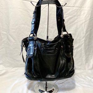 B. Makowsky Leather Tote